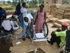 Wheelchair Kits arrive in Kagadi